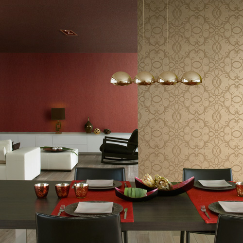 These modern style wallpapers are well capable of making your walls the