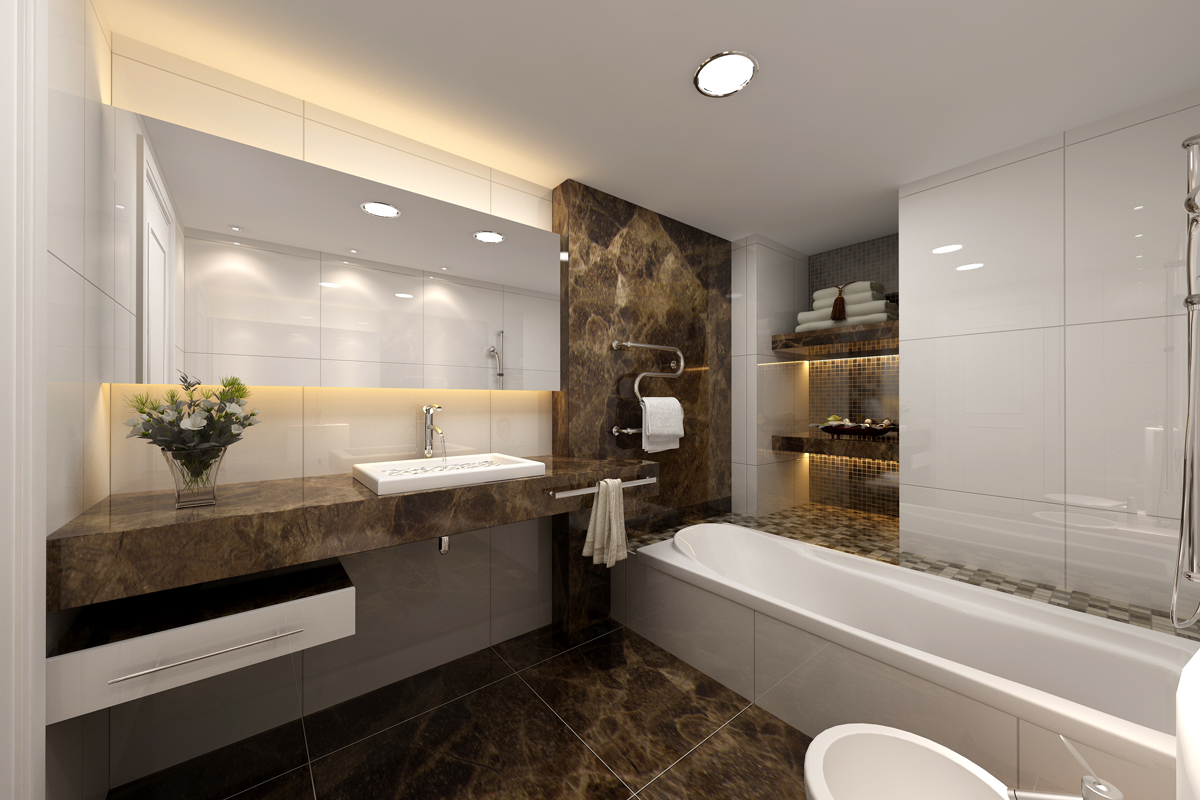 Bathrooms a l 39 abode Modern design of bathroom