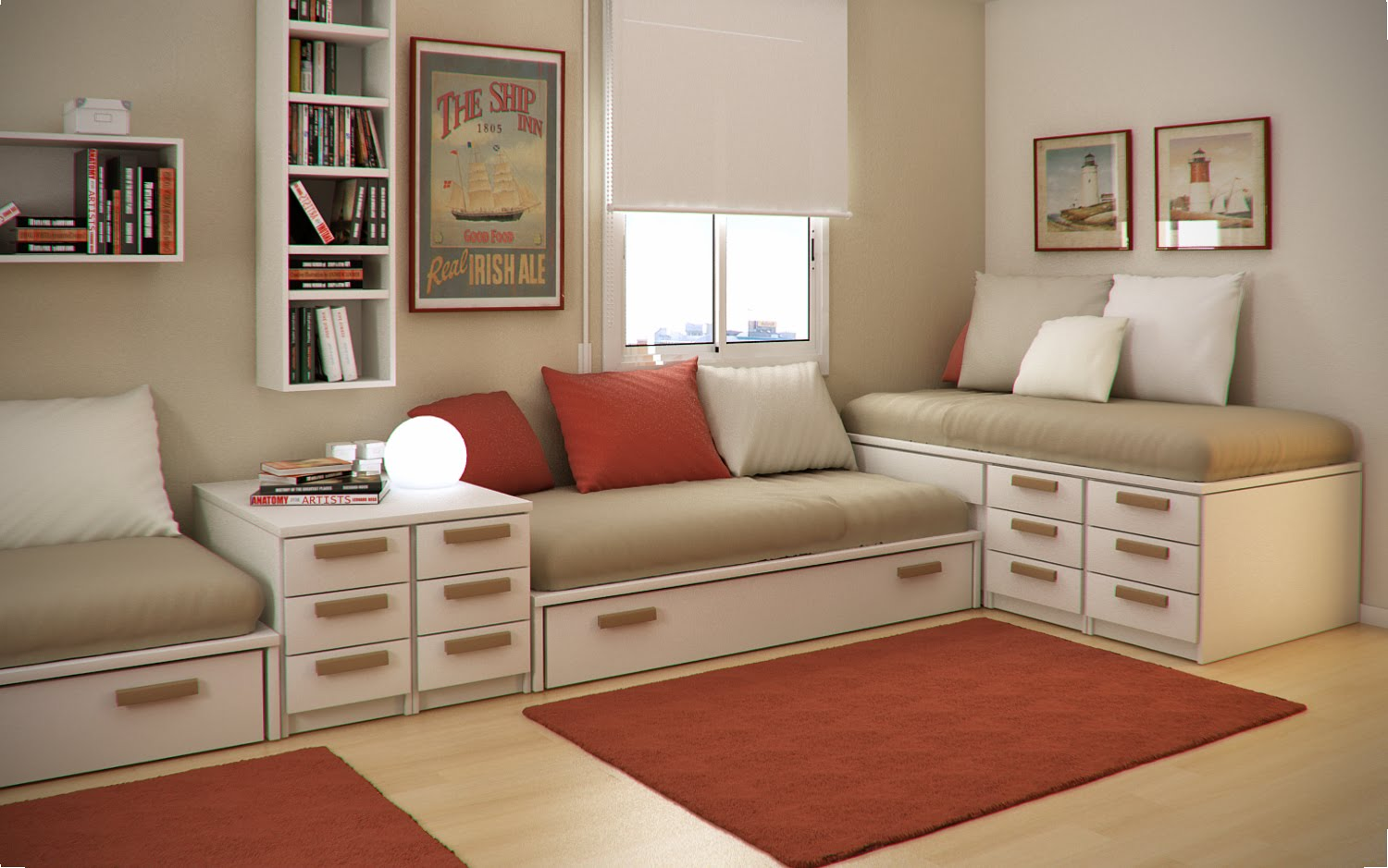Rooms For Kids Small Floorspace Kids Rooms  Smiuchin