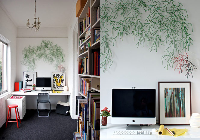 busy funky nifty workspace Cool Workspace Inspiration
