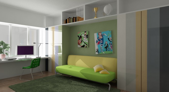 colorful fun creative work space 665x364 Cool Workspace Inspiration