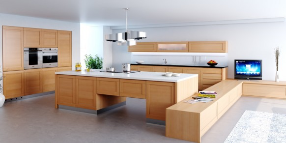 modern style kitchen