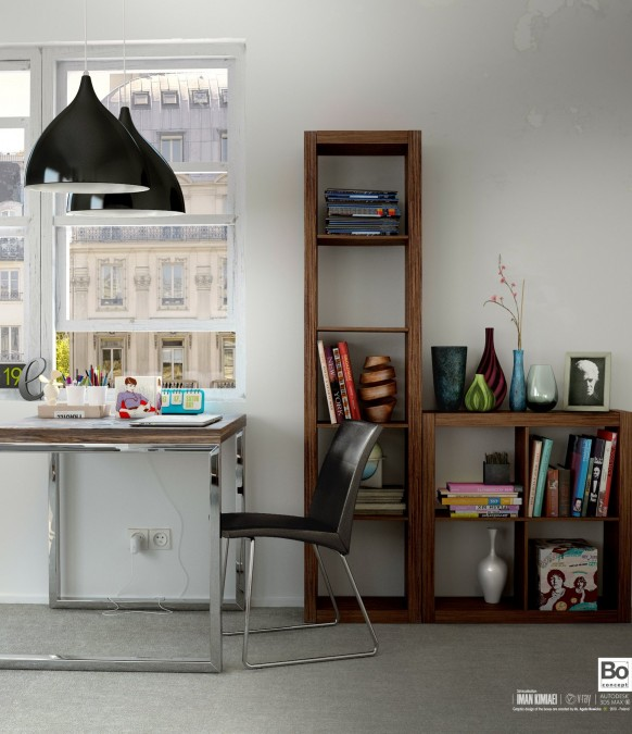 study nook creative inspiration storage