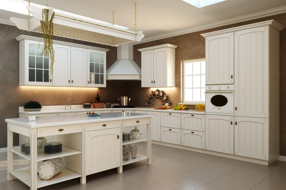 stylish kitchen traditional