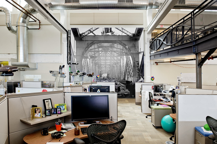 Google pittsburgh office penthouse of a 100 year old biscuit factory - Office pictures ...