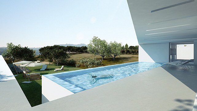 balcony pool