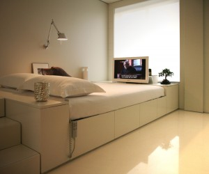 Design Home Furniture on In New York Winter House Beautiful Modern House Rendered By Marc Canut
