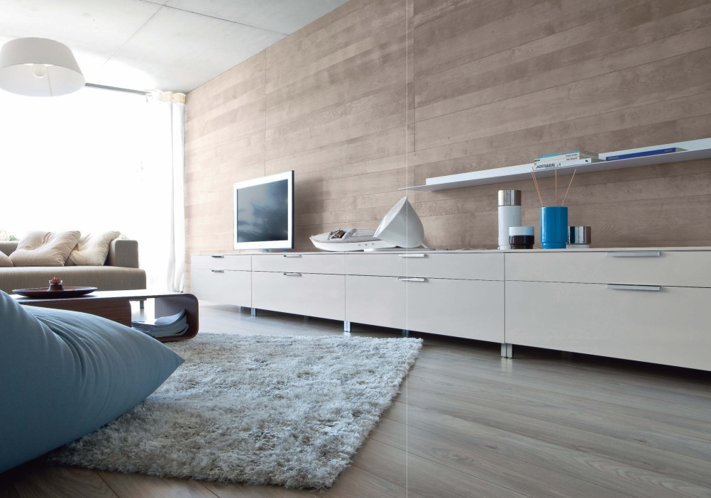 Luxury Living Rooms from Ligne Roset wooden wall flat tv bed ...