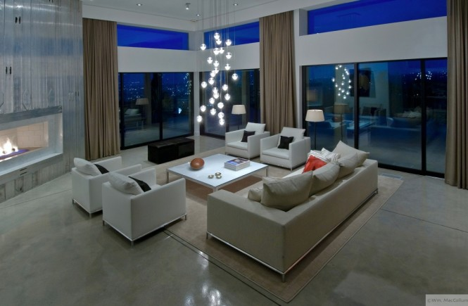 cool living room lighting