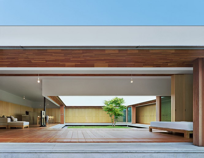 home courtyard design