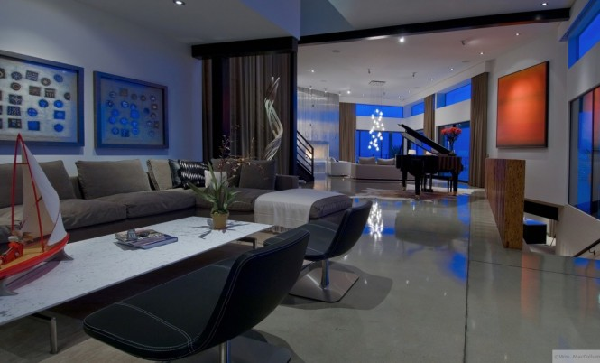 living with piano