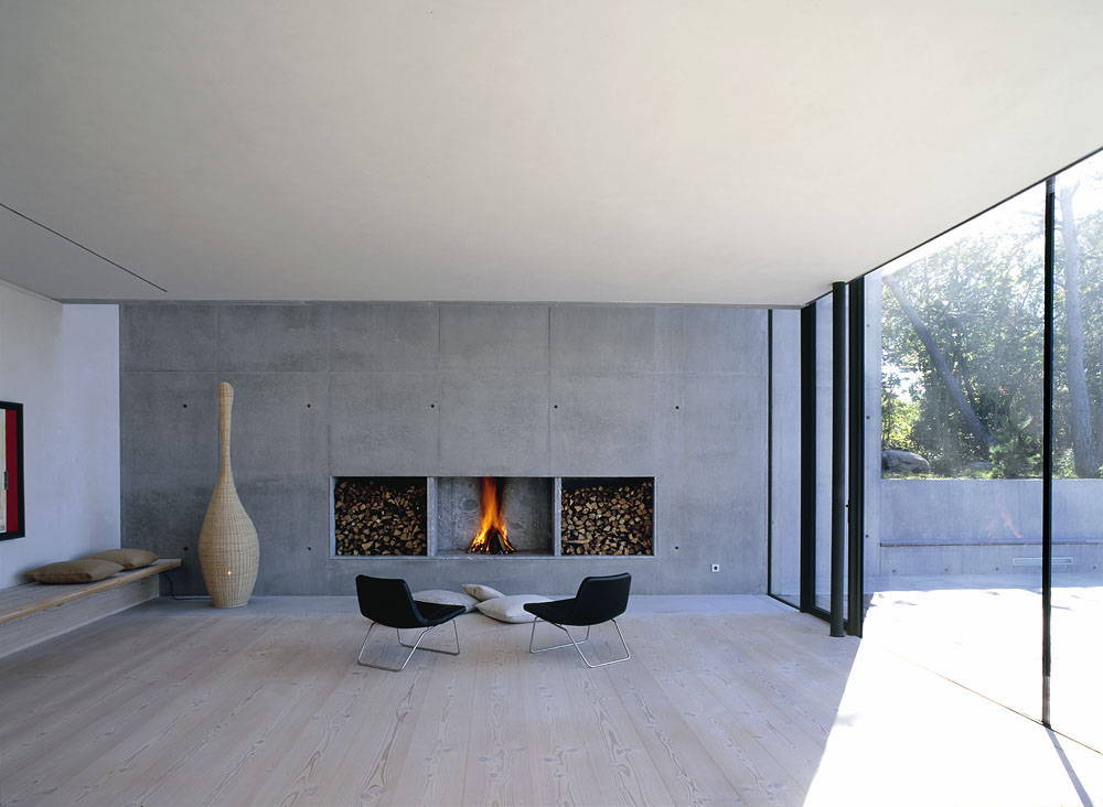 Modern Architectural Fireplaces From Metalfire Pictures To Pin On Pinterest