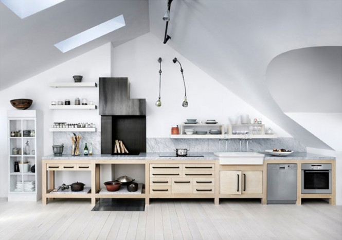 modern scullery kitchen