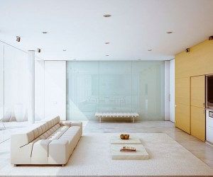 modern style living room