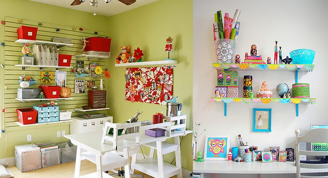 Quirky Chic Workspace. Workspace Design Ideas