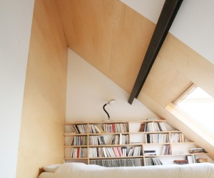 Loft bookshelf