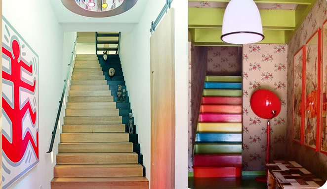 color conscious and multi-purpose stair-treatment