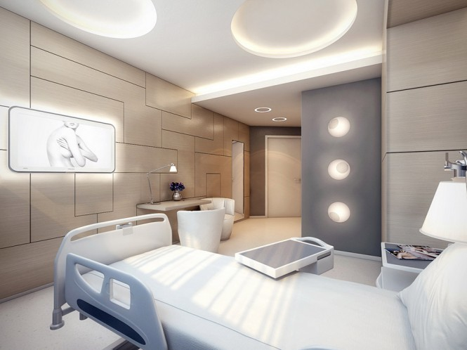 luxury ward interior