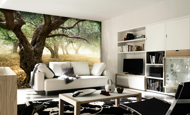 mystical outdoors forest wall-mural-13