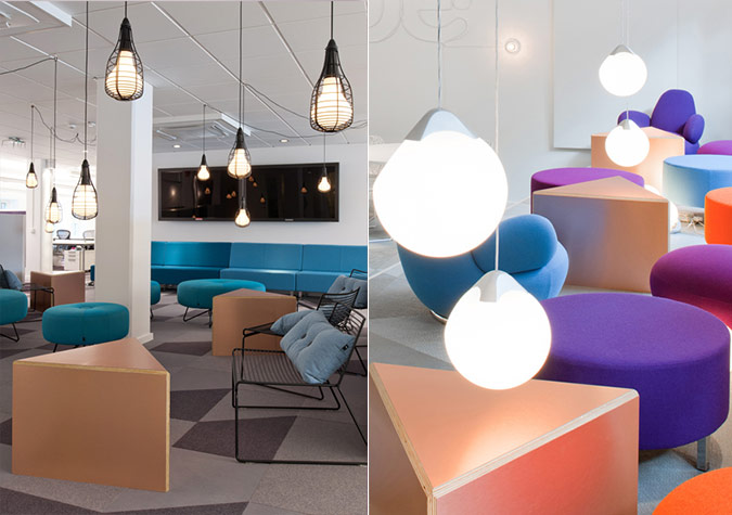 design skype s stockholm office sparks with contrast