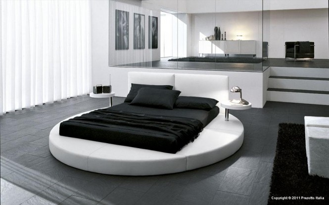 oversized bed