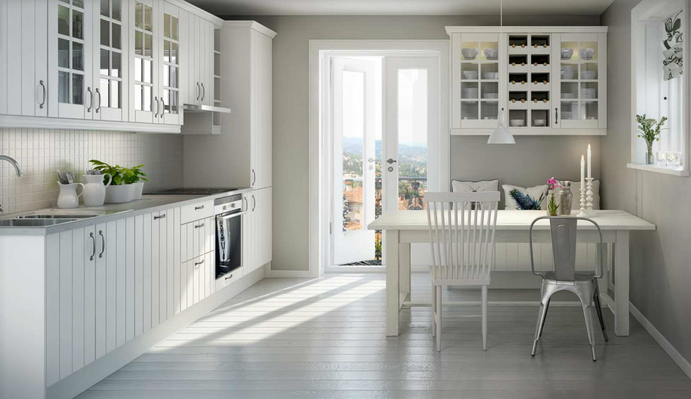 traditional contemporary Norwegian kitchen