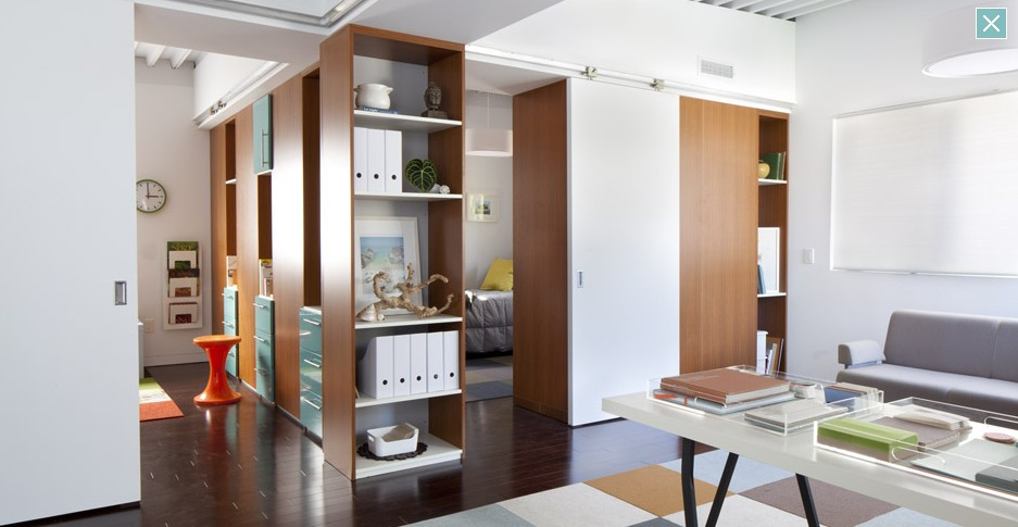 Partition Between Two Rooms - Home Design & Architecture - Cilif.com