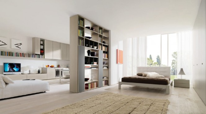 Flowing Open Interiors From Euromobil Design Interior
