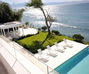 casa china blanca house-by-sea with pool and view of ocean