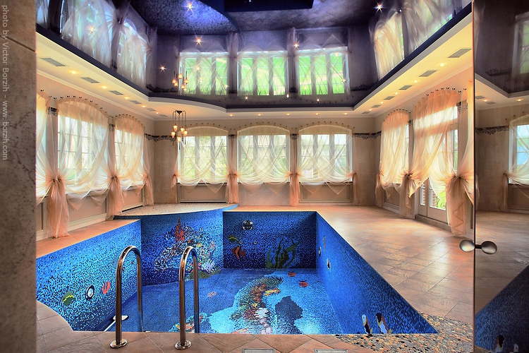 10 wackiest coolest swimming pool designs in the world for Luxury swimming pools