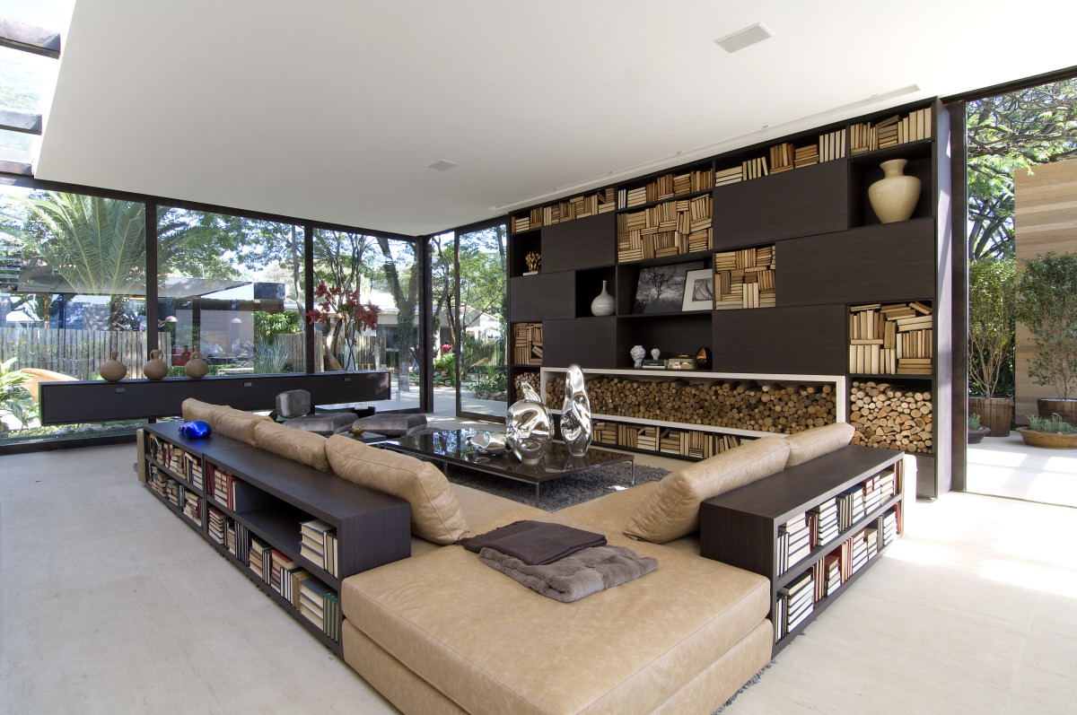 Outdoor And Indoor Library