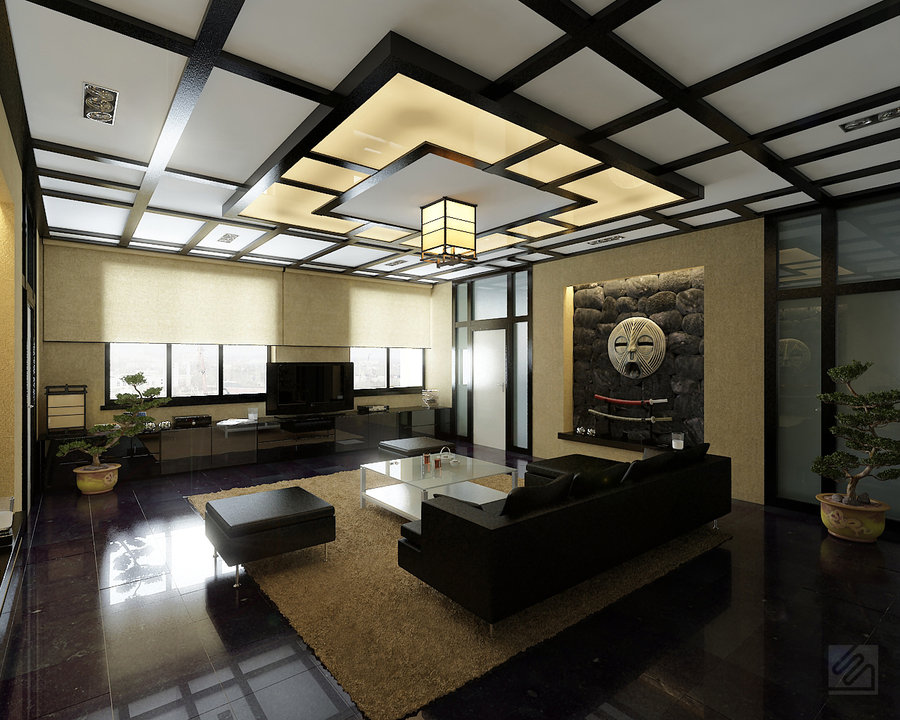 Japanese Living Room Design With Asian Sofa Style Top Home Feat Contemporary Corner Architecture Interior 600x398 Pixels