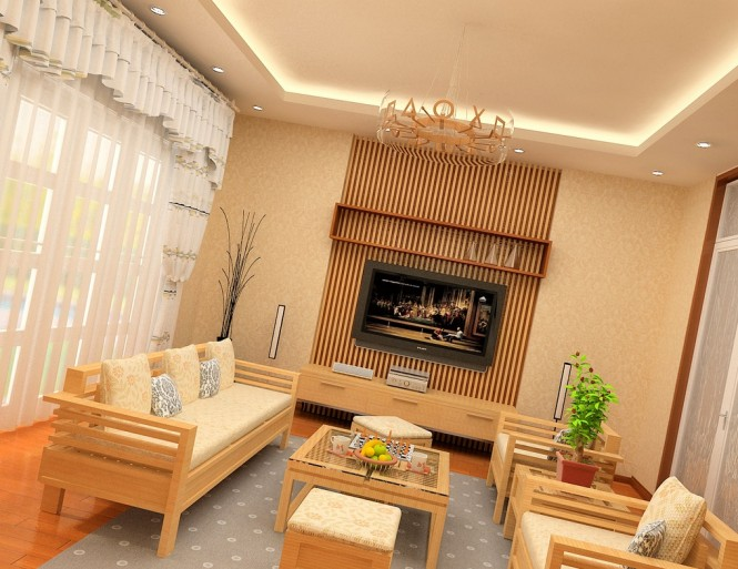 nguyen beige living room
