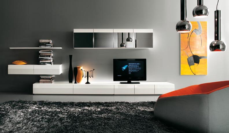 Modern Tv Wall Unit Designs Enchanting Modern Tv Cabinet  Sweet Home