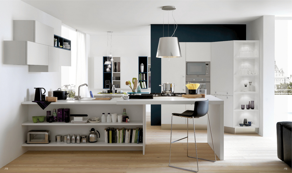 Modern kitchens armando ferriani edward for Open kitchen style