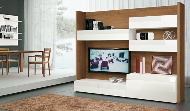 wood and white tv 2