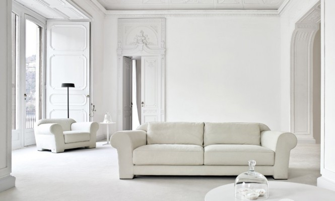 Busnesli White Living Room
