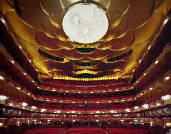 opera house circular ceilings
