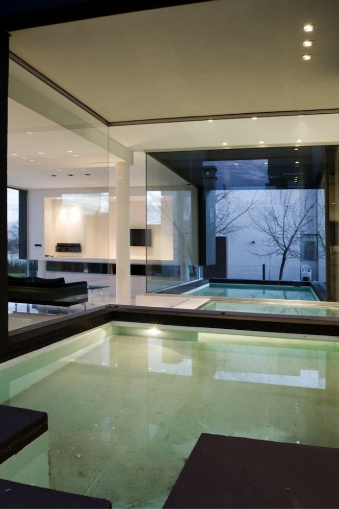 remy black house with pools