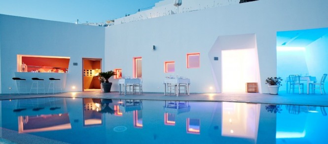 santorini grace pool
