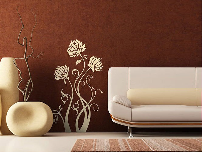 wall stickers flower