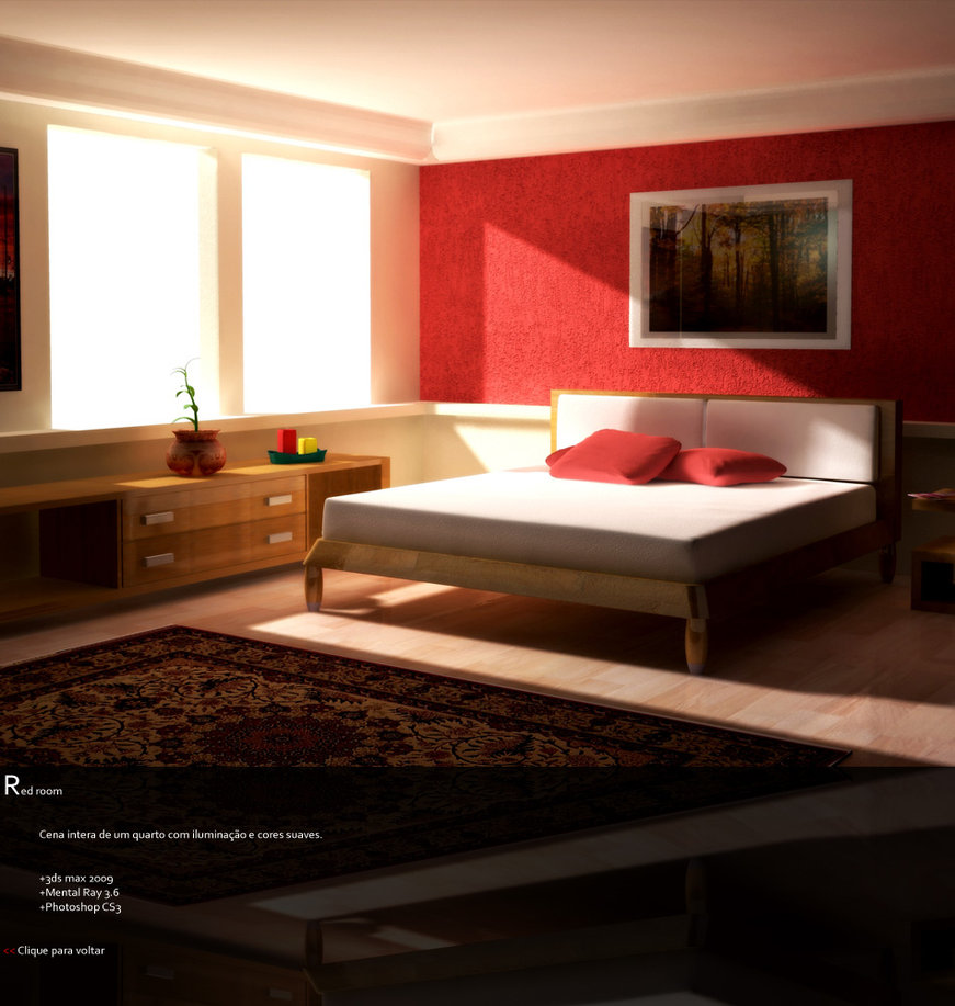 Red Room: Red Bedrooms