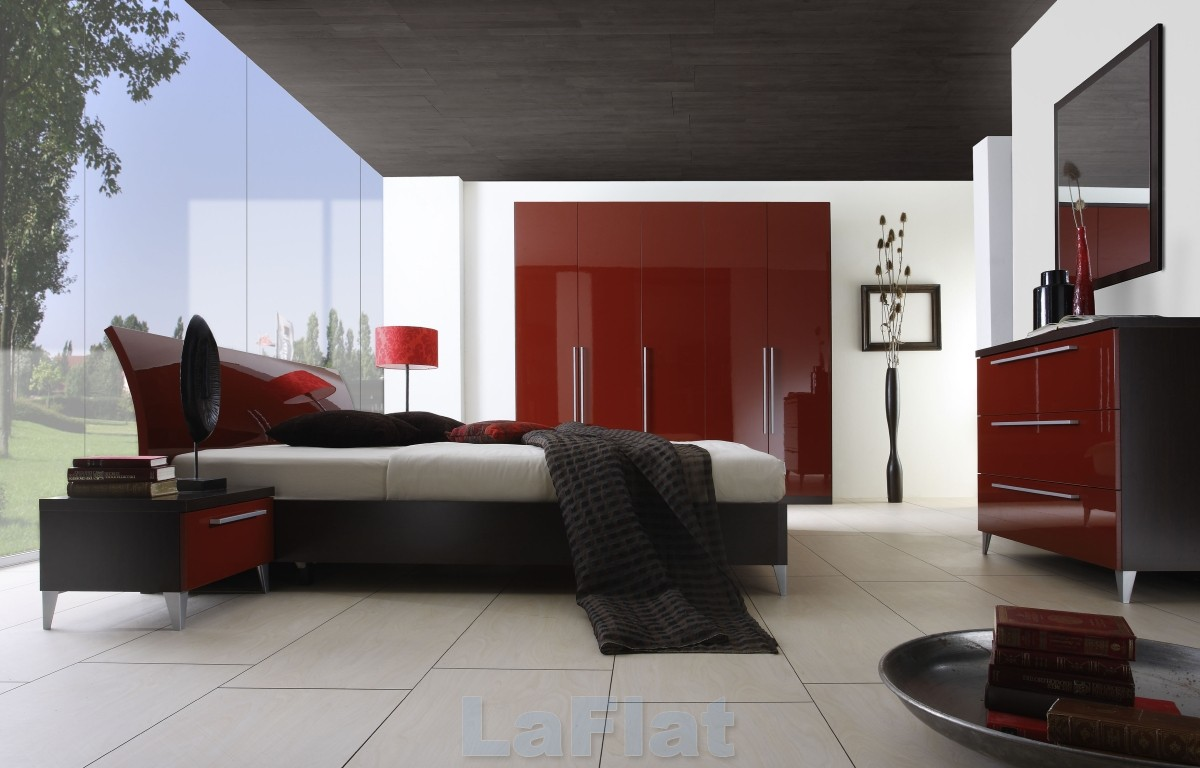 Excellent Modern Bedroom Red Black and White 1200 x 768 · 140 kB · jpeg