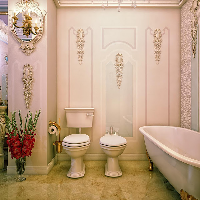 Baroque Bathroom