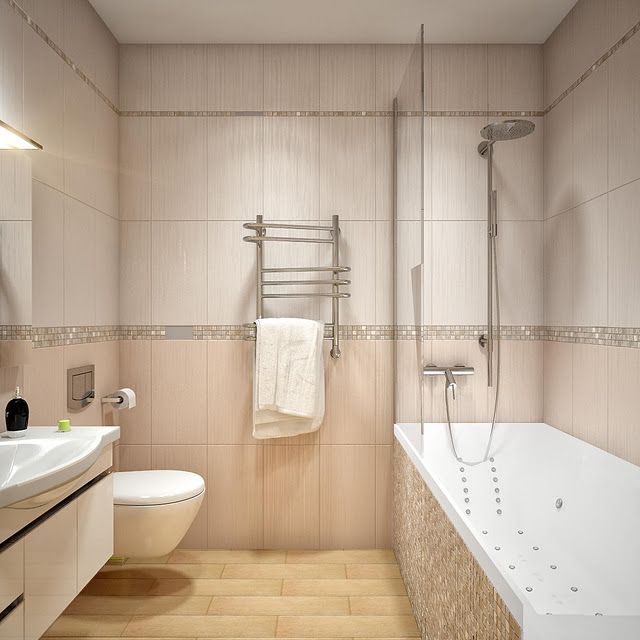 Simple, but Stylish Bathroom