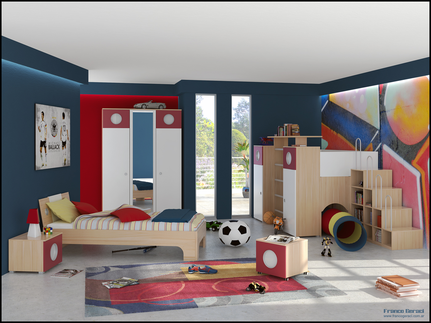 Kids room inspiration - Toddler bedroom ideas for small rooms ...
