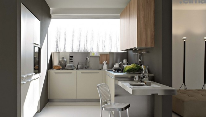 Small and Practical Kitchen