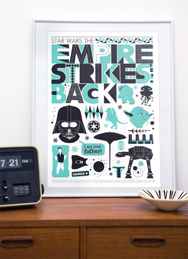 star wars poster prints
