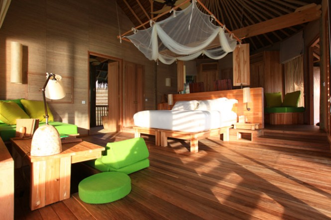 Six senses bedroom
