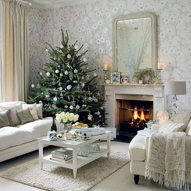 White Christmas lounge